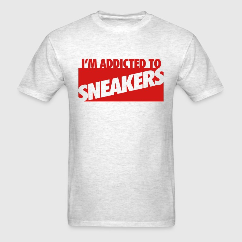 i'm addicted to sneakers T-Shirts - Men's T-Shirt