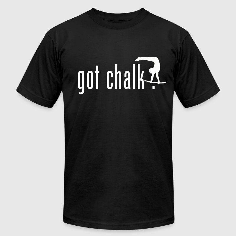 got chalk? T-Shirts - Men's T-Shirt by American Apparel