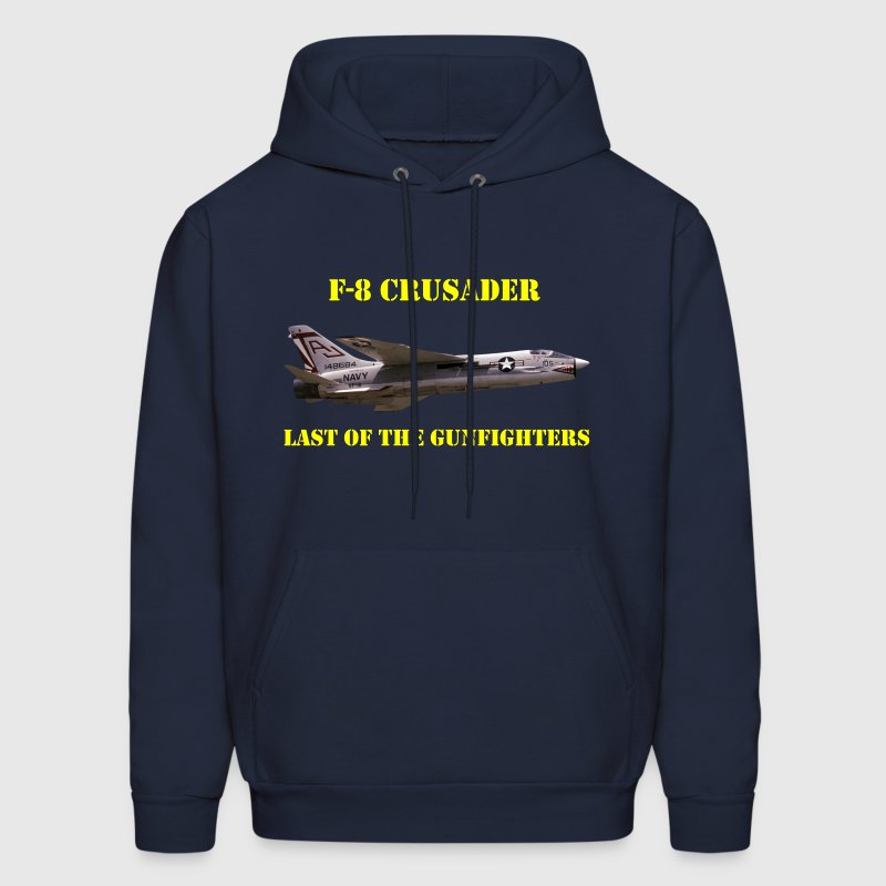 F-8 Crusader Last Of The Gunfighters Hoodie - Men's Hoodie