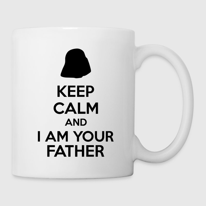 Keep Calm And I Am Your Father Mugs & Drinkware - Coffee/Tea Mug