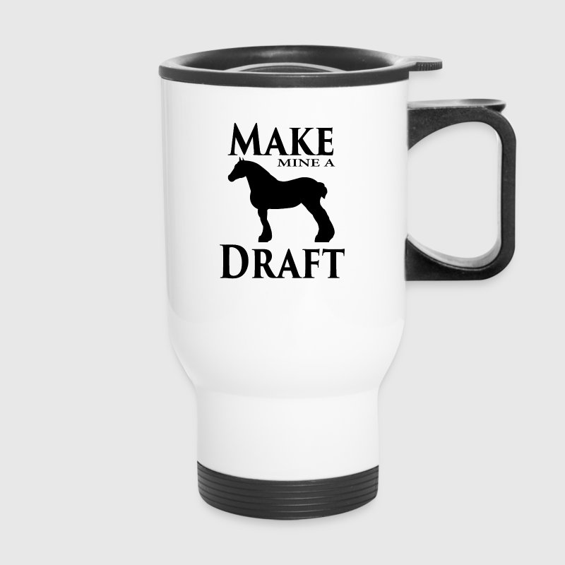 Make Mine a Draft Mugs & Drinkware - Travel Mug