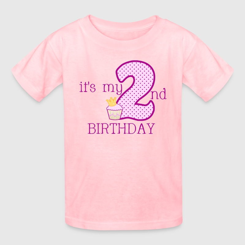 It's My 2nd Birthday - Kids' T-Shirt