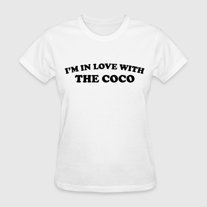 I'm in love with the coco Women's T-Shirts - Women's T-Shirt