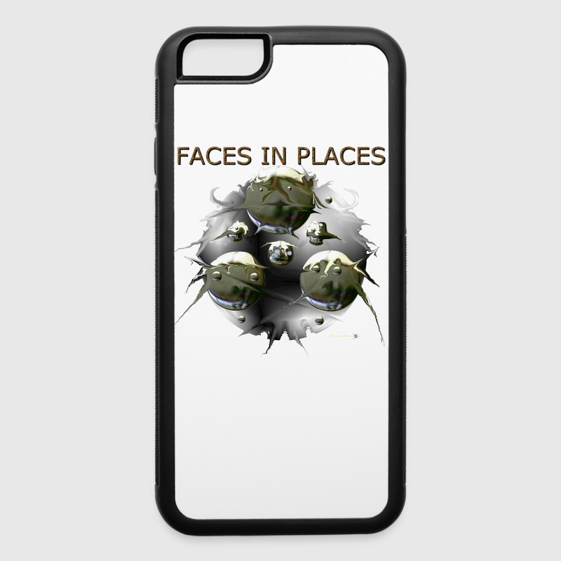 FACES IN PLACES Accessories - iPhone 6/6s Rubber Case