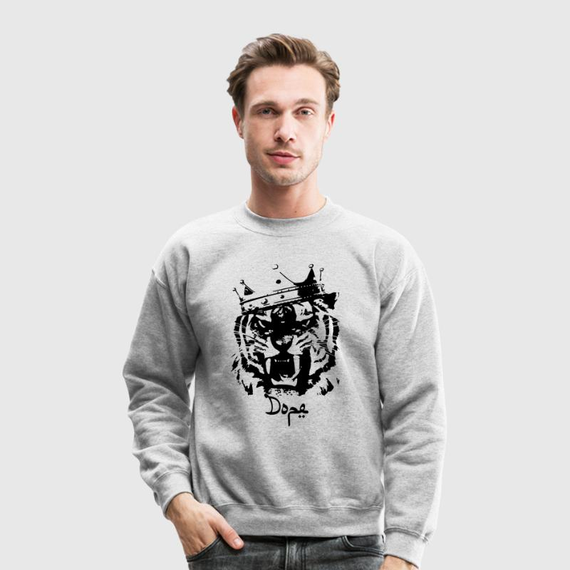 Dope tiger Long Sleeve Shirts - Crewneck Sweatshirt