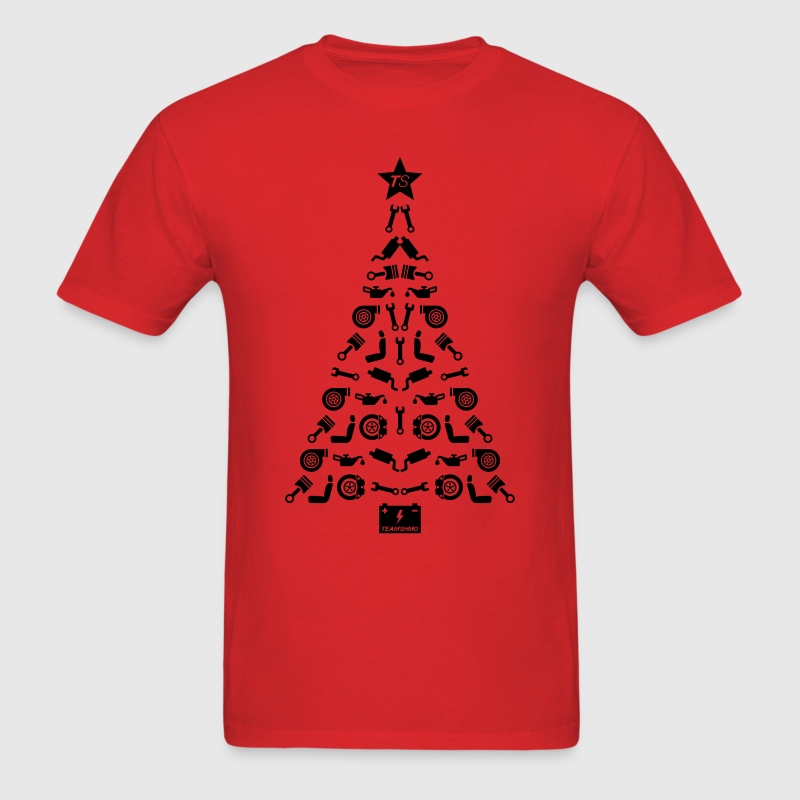 Car Parts Christmas Tree T Shirt Spreadshirt