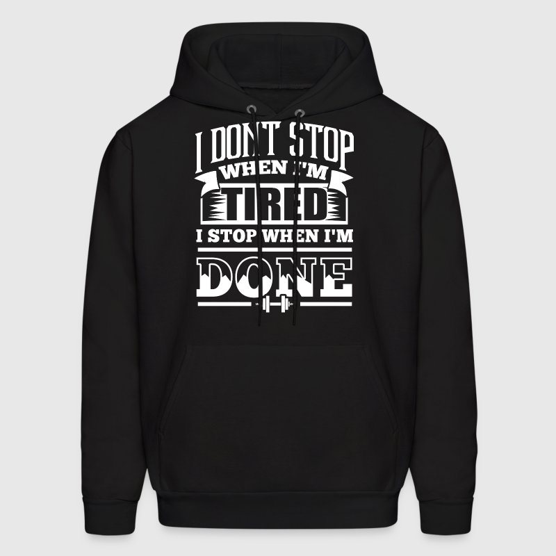Bodybuilding Gym Workout - Men's Hoodie
