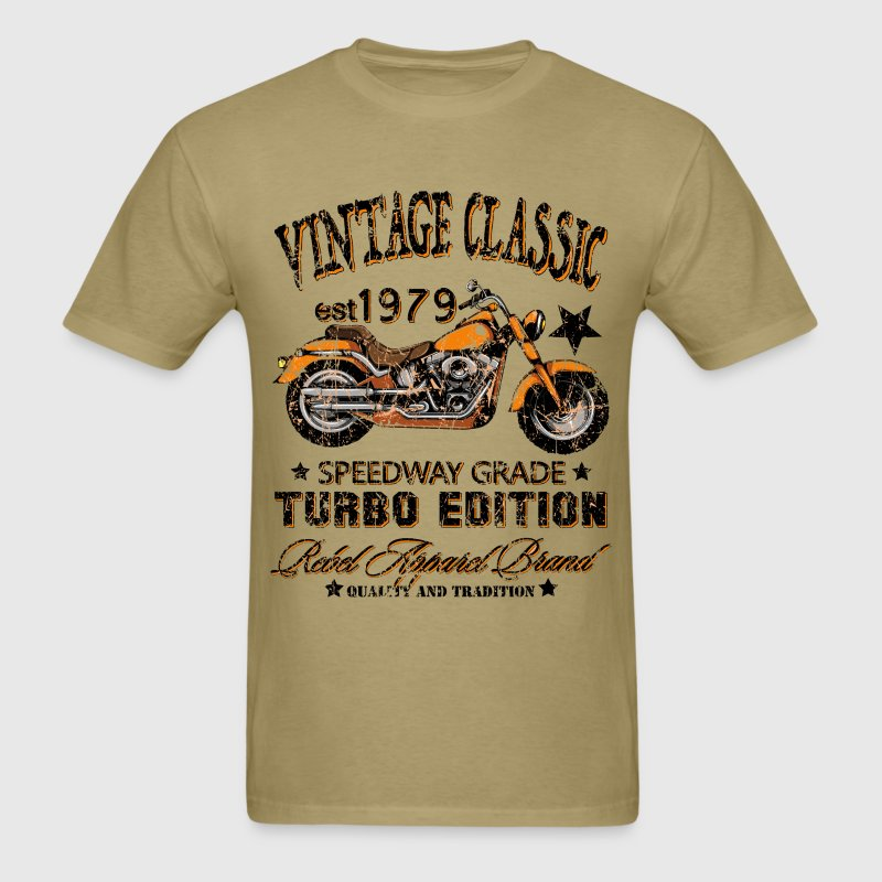 Vintage Classic Motorcycle T-Shirt | Spreadshirt