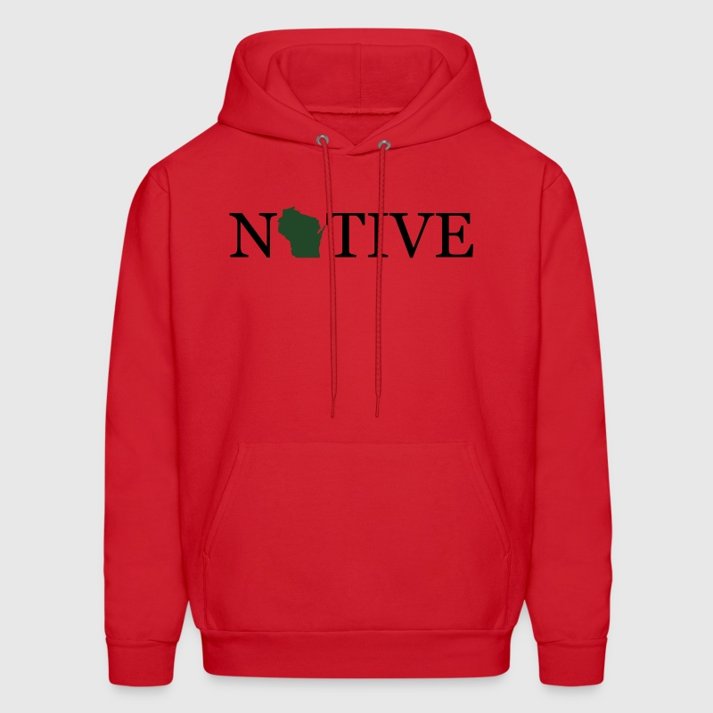 Wisconsin Native Hoodies - Men's Hoodie