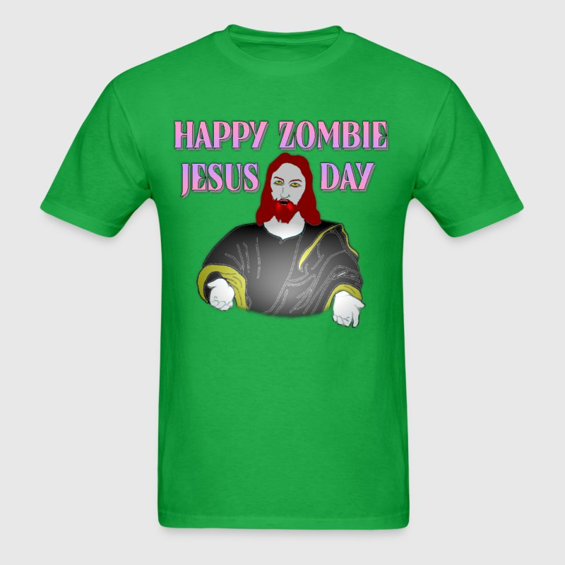 Happy Zombie Jesus Day - Men's T-Shirt