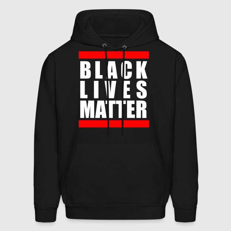 BLACK LIVES MATTER Hoodies - Men's Hoodie