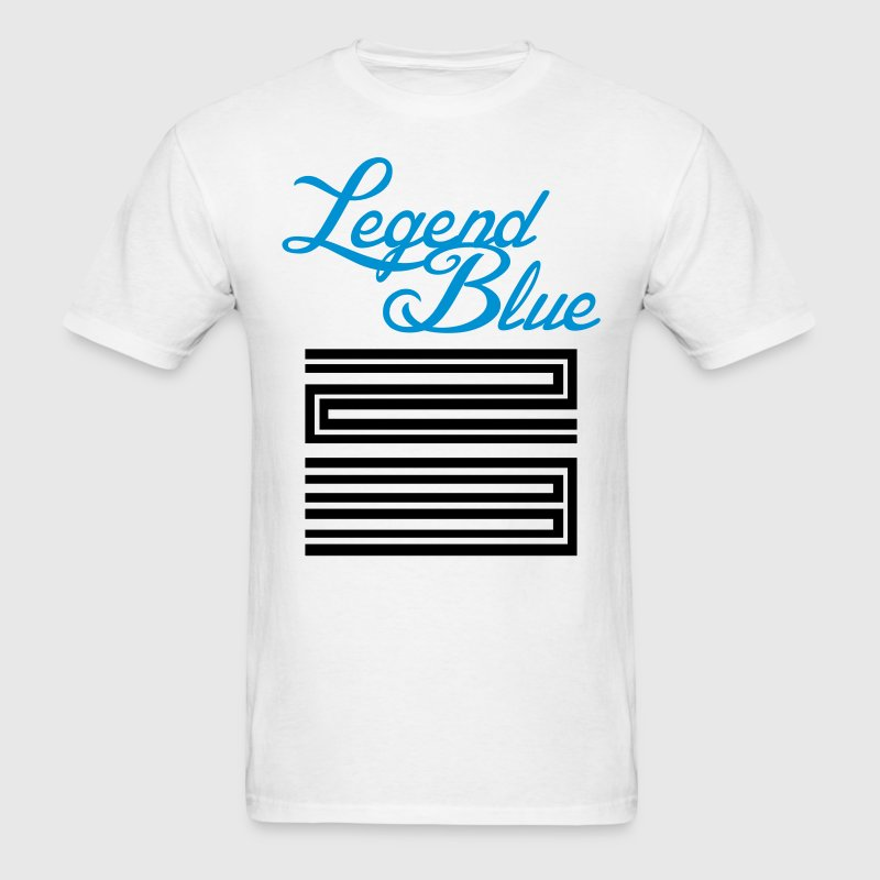 Jordan Retro 11 Legend Blue Shirt - Men's T-Shirt