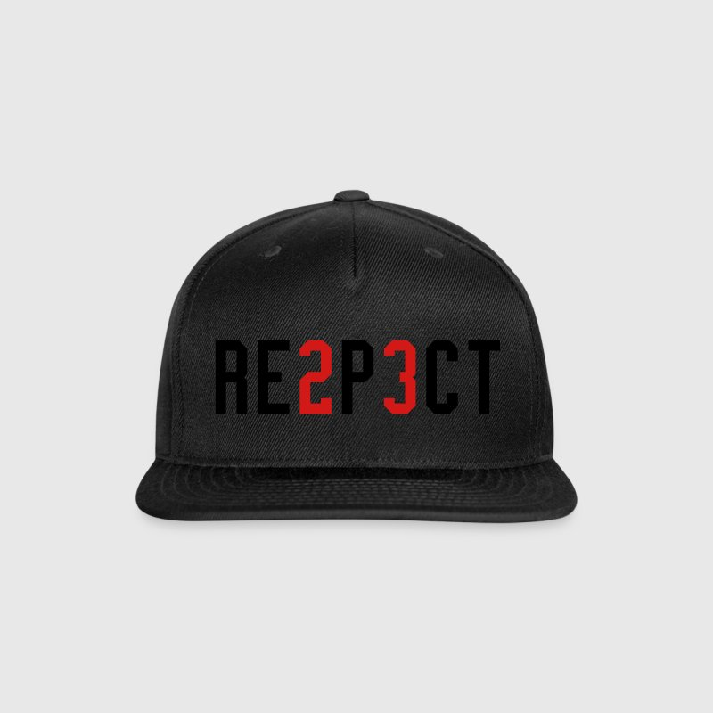 RESPECT Caps - Snap-back Baseball Cap