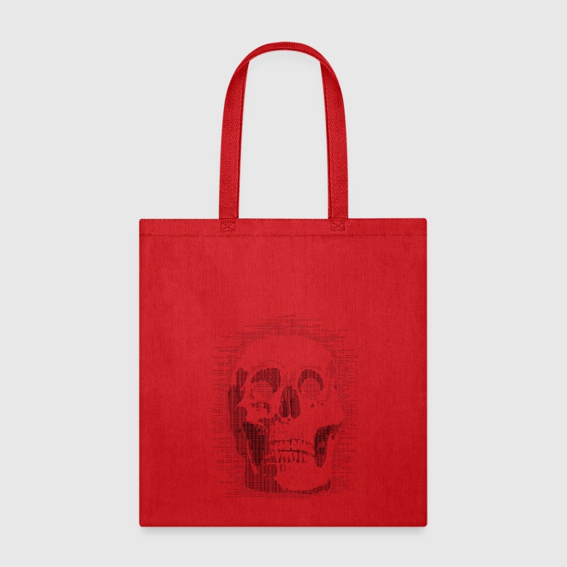 skull ascii Bags & backpacks - Tote Bag