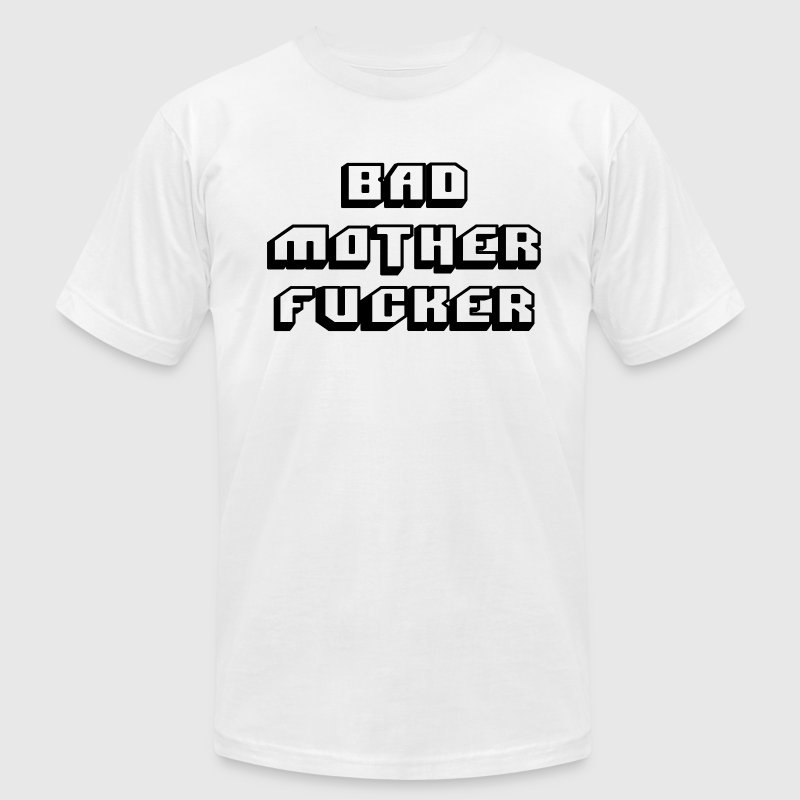 Pulp fiction - bad mother fucker - Men's T-Shirt by American Apparel