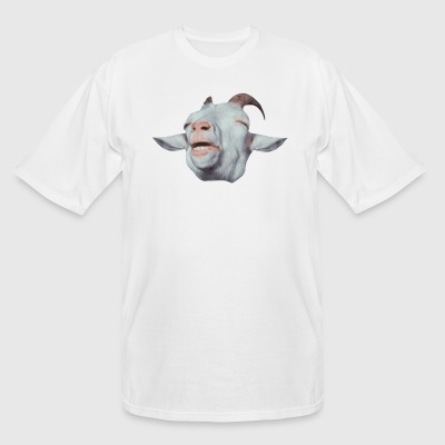 Happy Goat is Faded T-Shirts - Men's Tall T-Shirt