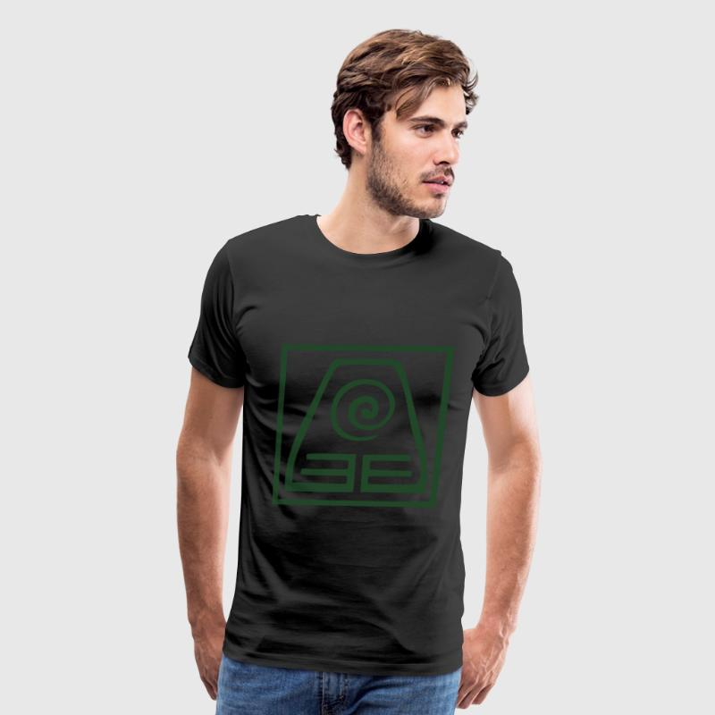 Earthbending symbol  - Men's Premium T-Shirt