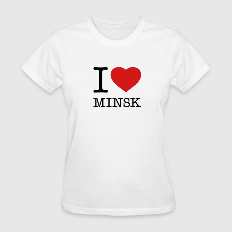 I LOVE MINSK - Women's T-Shirt