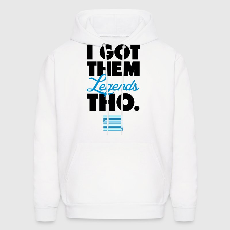 I Got Them Legends Tho Retro Jordan 11 Blue Shirt Hoodies - Men's Hoodie