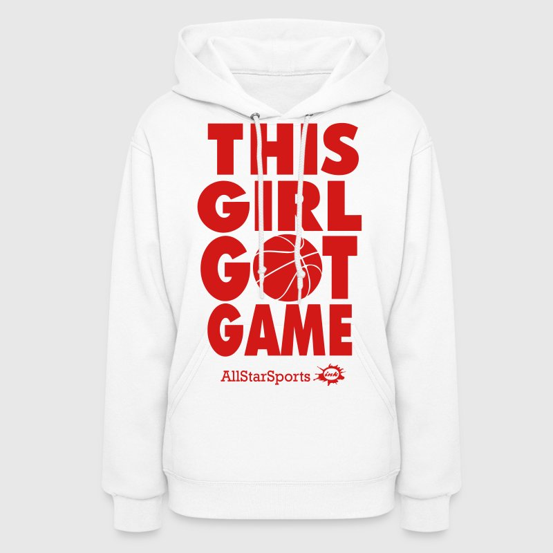 THIS GIRL GOT GAME Hoodies - Women's Hoodie