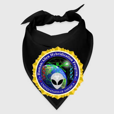 Human Alien Hybrid Program Badge - Bandana