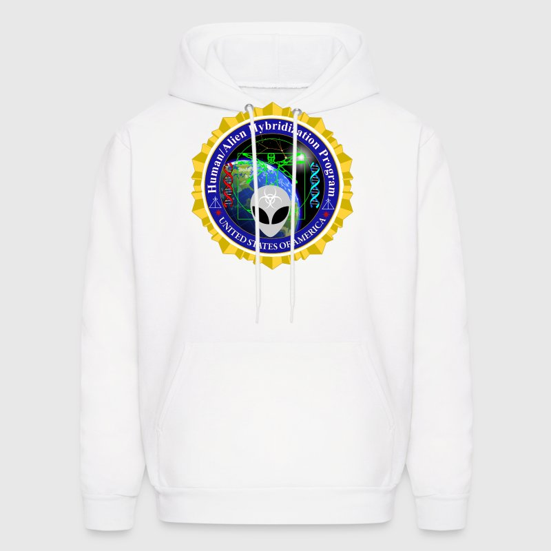 Human Alien Hybrid Program Badge - Men's Hoodie