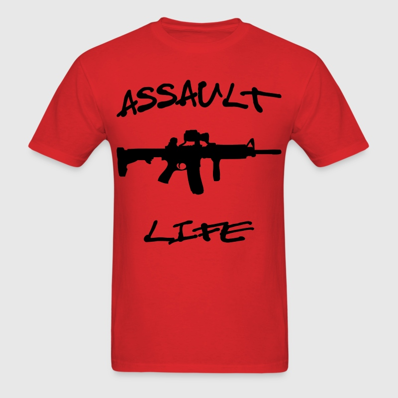 Assault Life AK-47 - Men's T-Shirt
