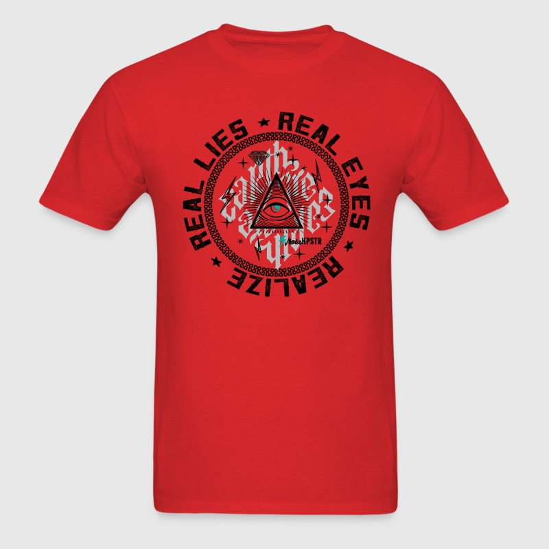 Real Eyes Realize  - Men's T-Shirt