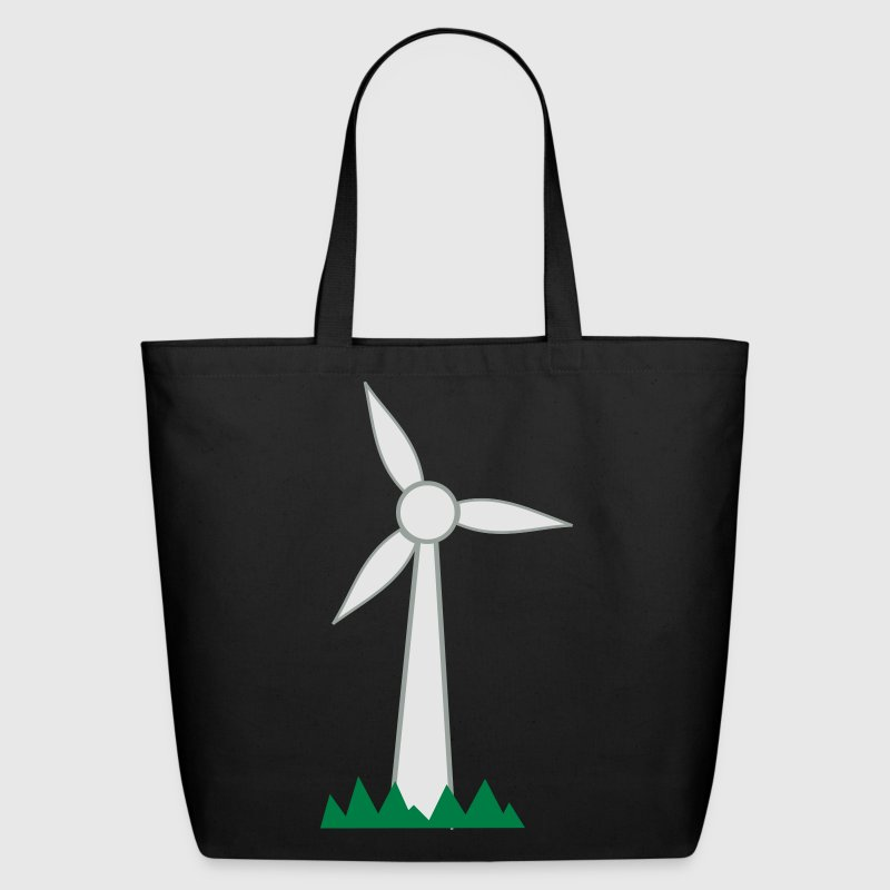 Wind Turbine Bags & backpacks - Eco-Friendly Cotton Tote