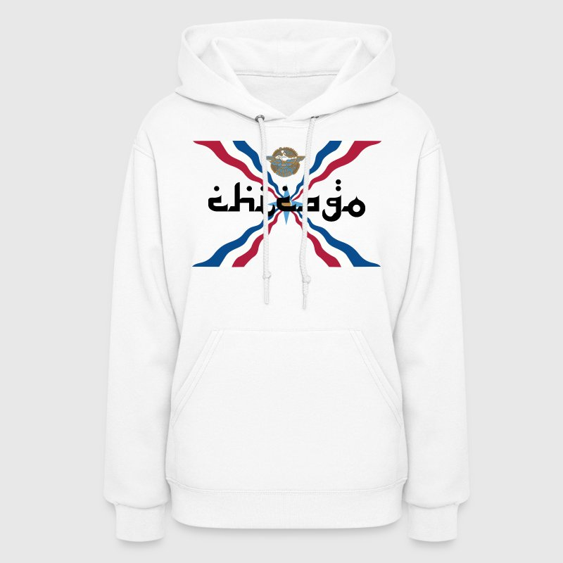 Assyrian Chicago Pride Flag Nationality Shirt Tees Hoodies - Women's Hoodie