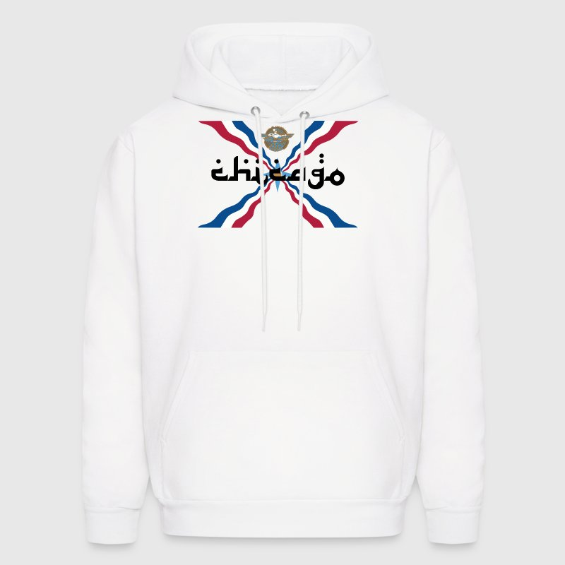 Assyrian Chicago Pride Flag Nationality Shirt Tees Hoodies - Men's Hoodie