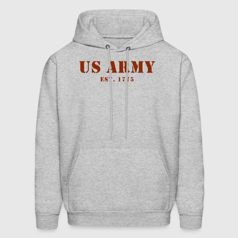US Army est 1775 Men's Hooded Sweat Shirt - Men's Hoodie