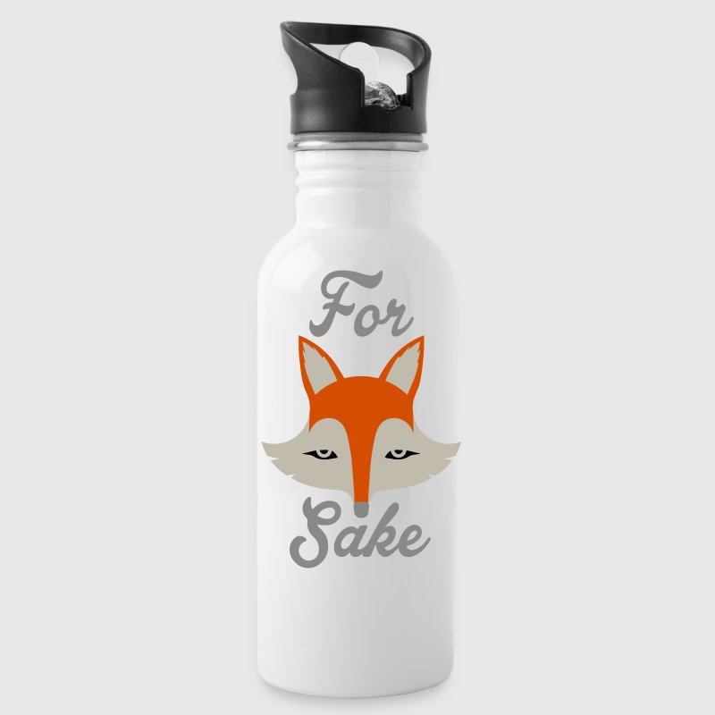 For Fox Sake Mugs & Drinkware - Water Bottle