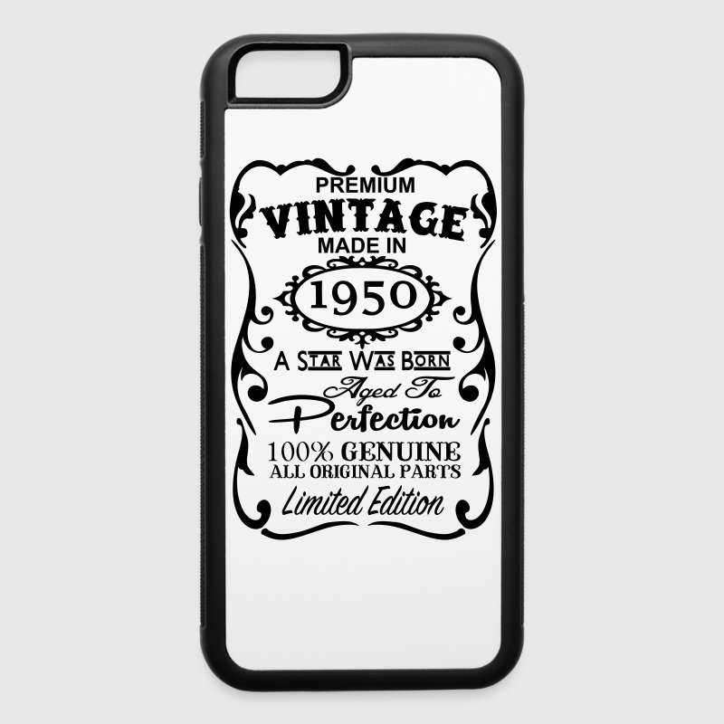67th Birthday Gift Ideas for Men and Women Unique  - iPhone 6/6s Rubber Case
