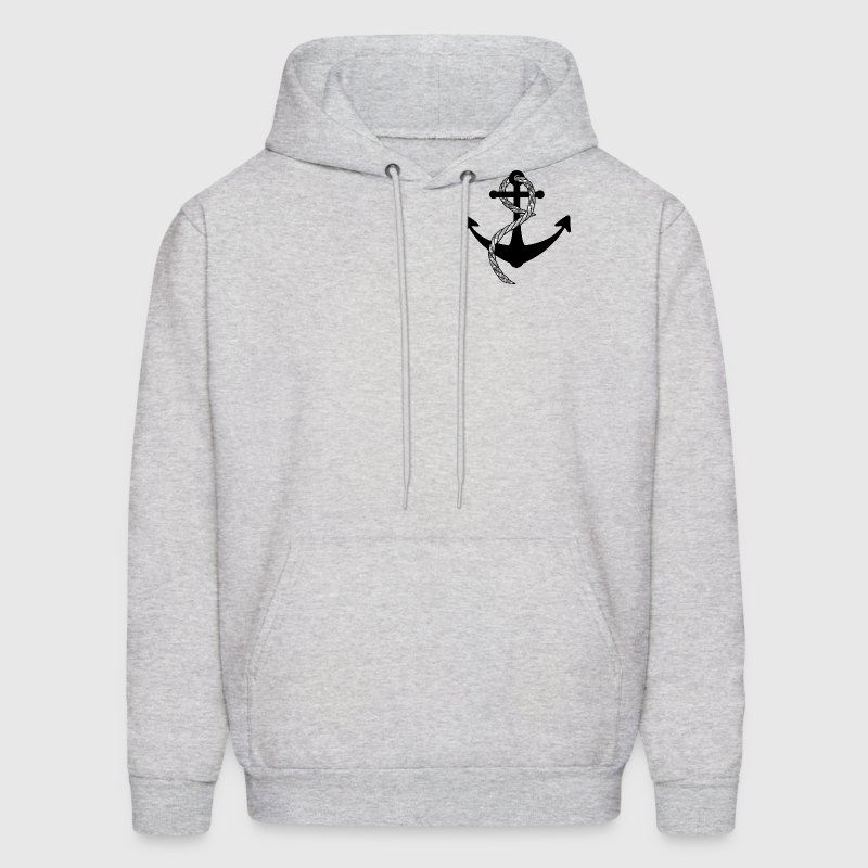 Ship's Anchor & Rope - Men's Hoodie