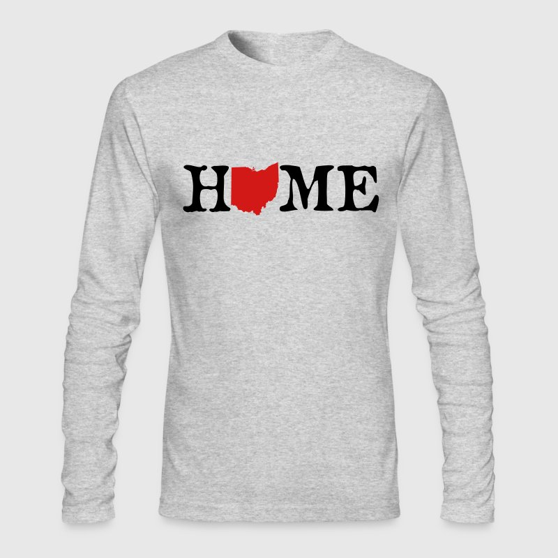 HOME - Ohio Long Sleeve Shirts - Men's Long Sleeve T-Shirt by Next Level