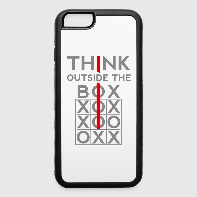 Think Outside The Box Accessories - iPhone 6/6s Rubber Case