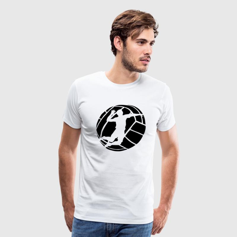 Volleyball Spiker T-Shirts - Men's Premium T-Shirt