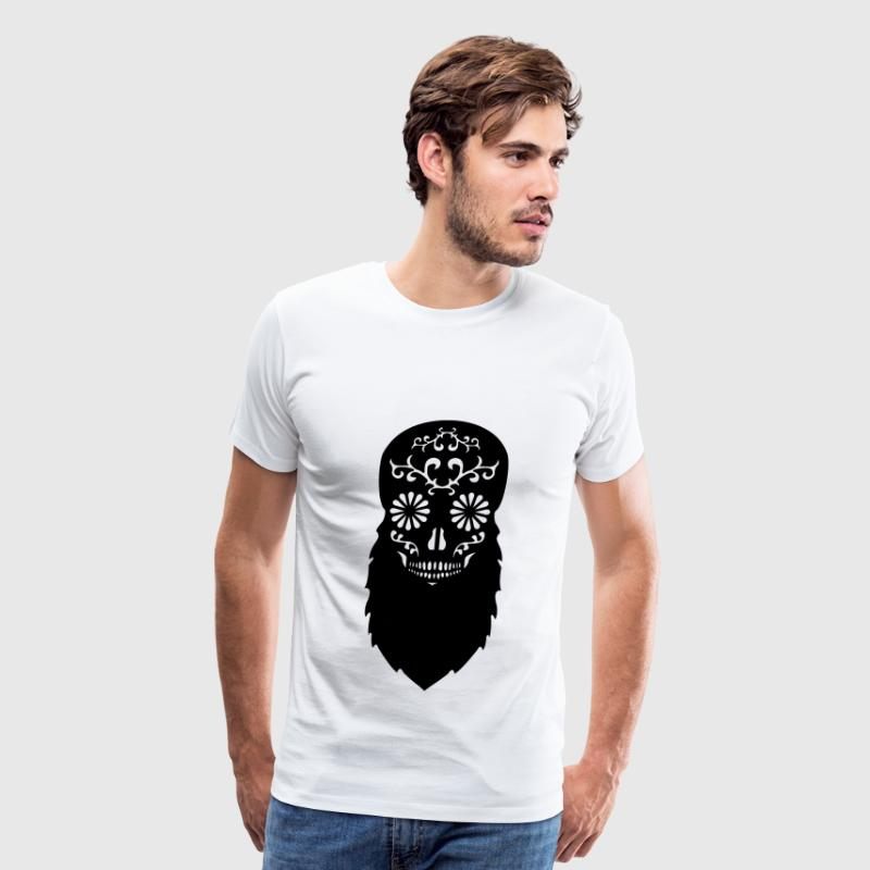 Bearded Skull - Men's Premium T-Shirt