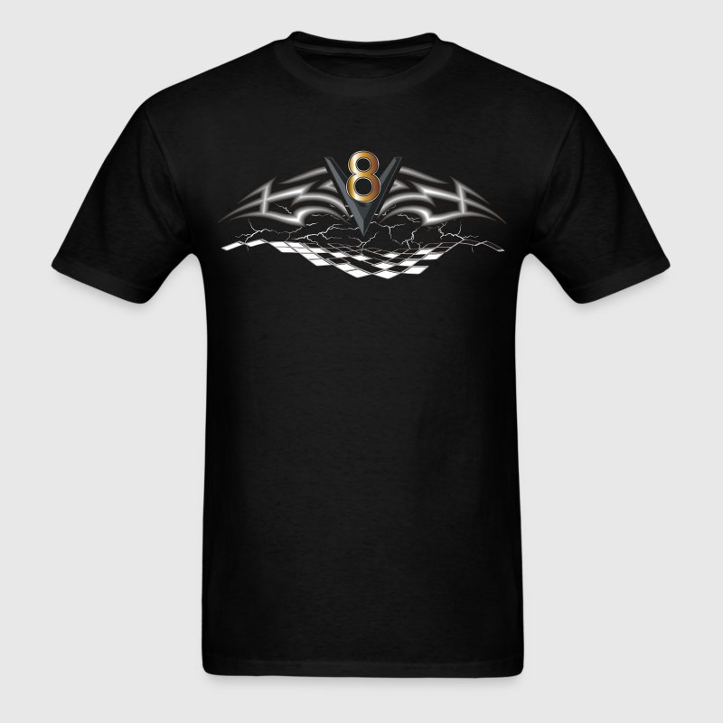 V8 Logo T-Shirts - Men's T-Shirt