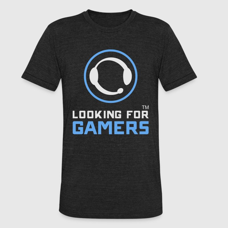 Looking For Gamers - Unisex Tri-Blend T-Shirt by American Apparel