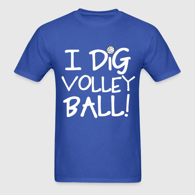 I Dig Volleyball T-Shirts - Men's T-Shirt