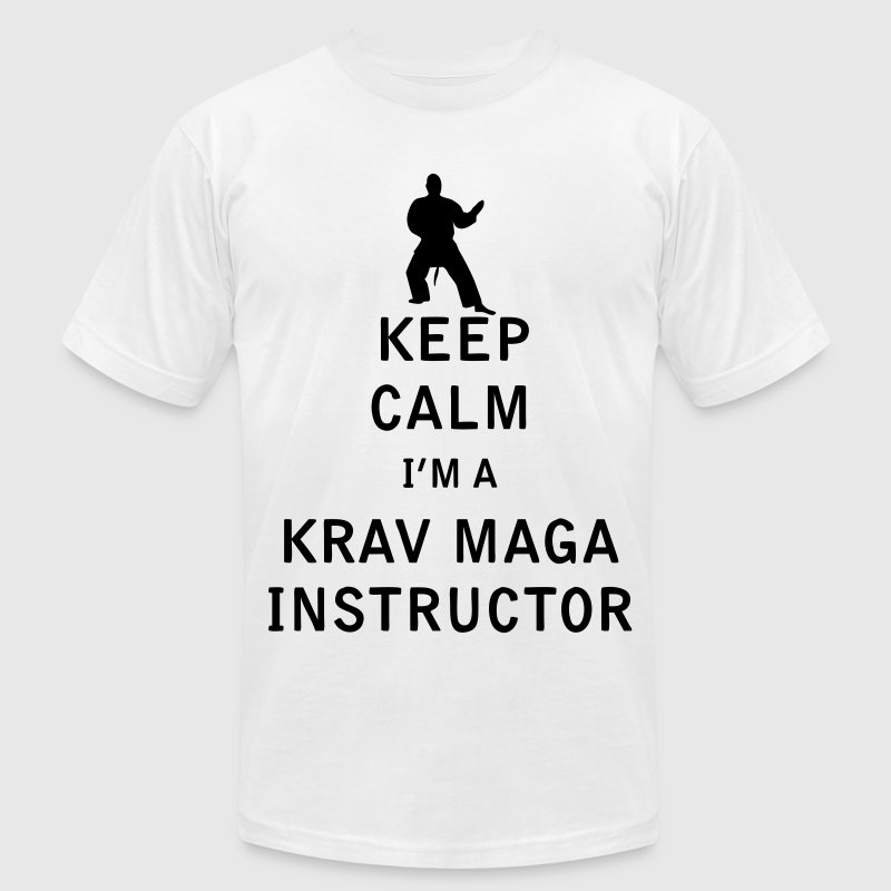 Keep Calm I'm a Krav Maga Instructor - Men's T-Shirt by American Apparel