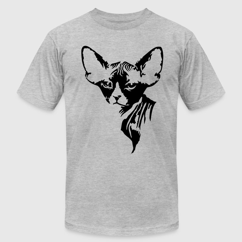 The sphynx cat T-Shirts - Men's T-Shirt by American Apparel