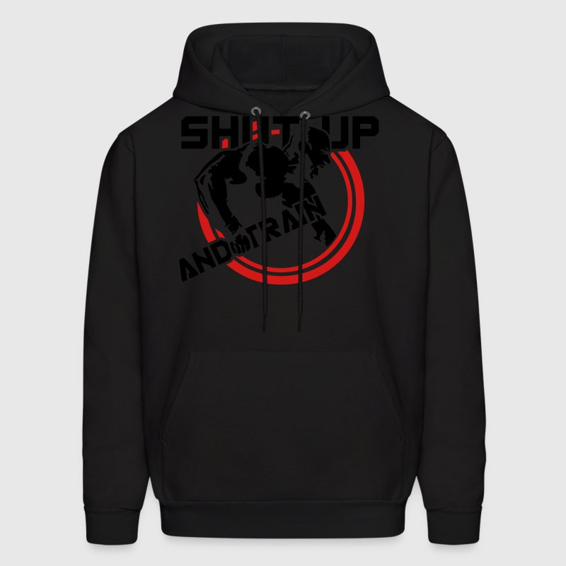 shut up and train Hoodies - Men's Hoodie