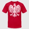 Polish Eagle Halftone T-Shirts - Men's T-Shirt by American Apparel