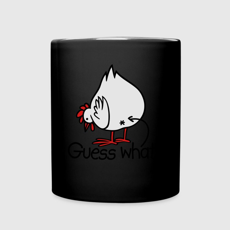 Guess what? (Chicken butt!) Mugs & Drinkware - Full Color Mug