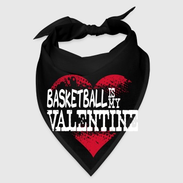 Basketball Is My Valentine Bags & backpacks - Bandana