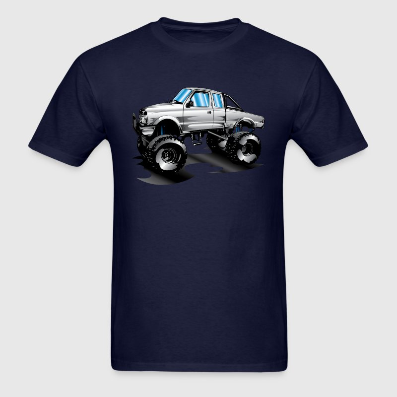Lifted 4x4 Ford Truck T-Shirts - Men's T-Shirt