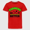 farmers do it better Kids' Shirts - Kids' Premium T-Shirt